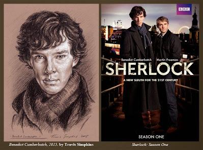 Benedict Cumberbatch as Sherlock Holmes. Sir Arthur Conan Doyle. by Travis Simpkins. Sherlock