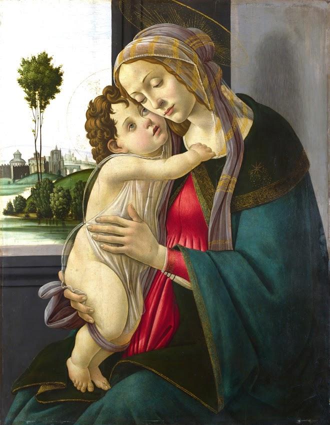 Sandro Botticelli - The Virgin and Child