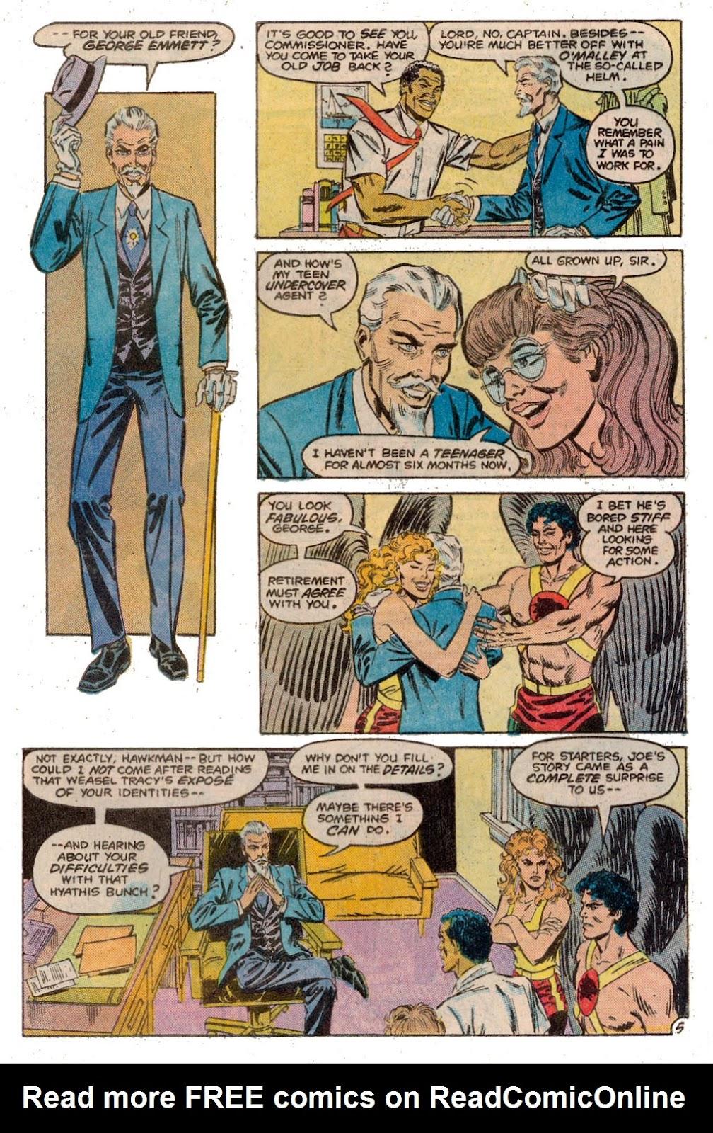 Hawkman (1986) Issue #3 #3 - English 8