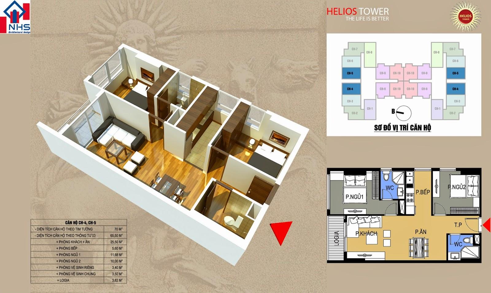 Căn 04 05 Helios Tower 75 Tam Trinh