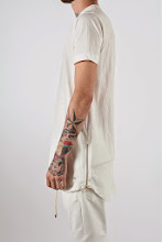 I Need This: ADYN White Oversize Zip Tee