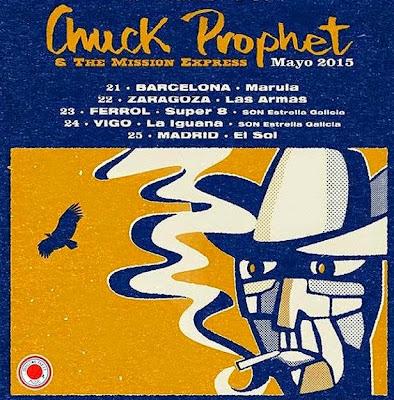 CHUCK PROPHET - Gira Mayo 2015