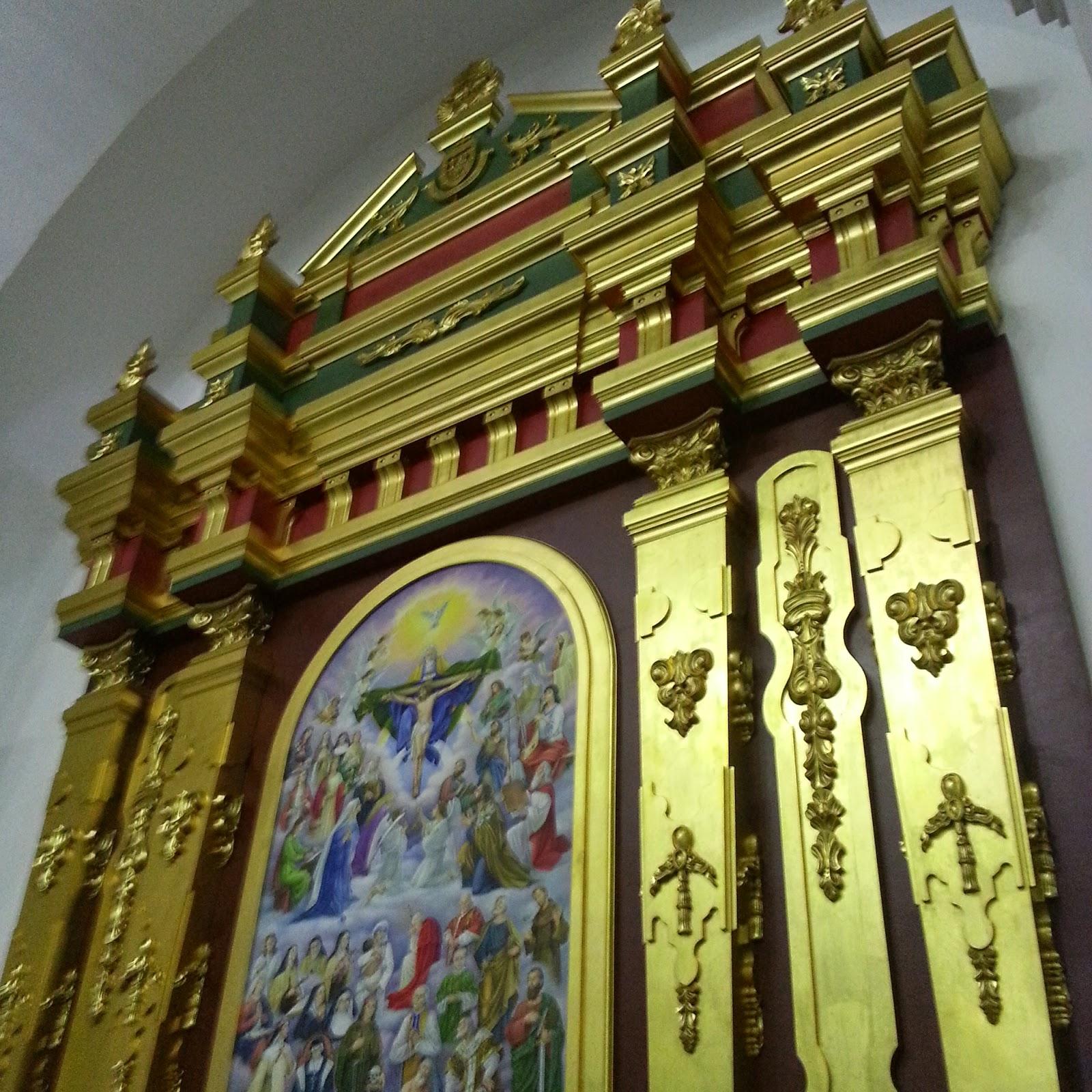 Retablo mayor conjunto de la catedral de calabozo estado for Arquitectura sacro