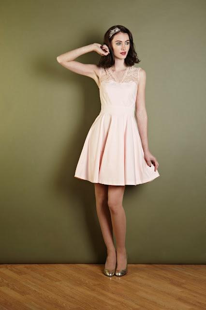 vintage, fashion, christmas, party, xmas, dress