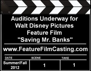 Walt Casting Saving Mr. Banks