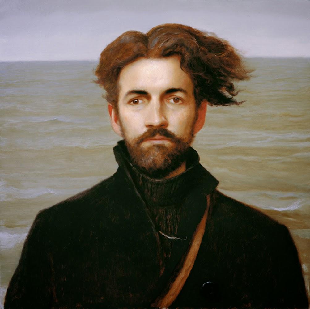 Bo Bartlett, Self portrait, Portraits of Painters