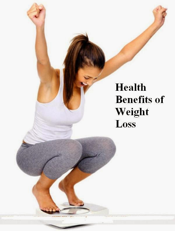 THE PHYSICAL BENEFITS OF LOSING WEIGHT