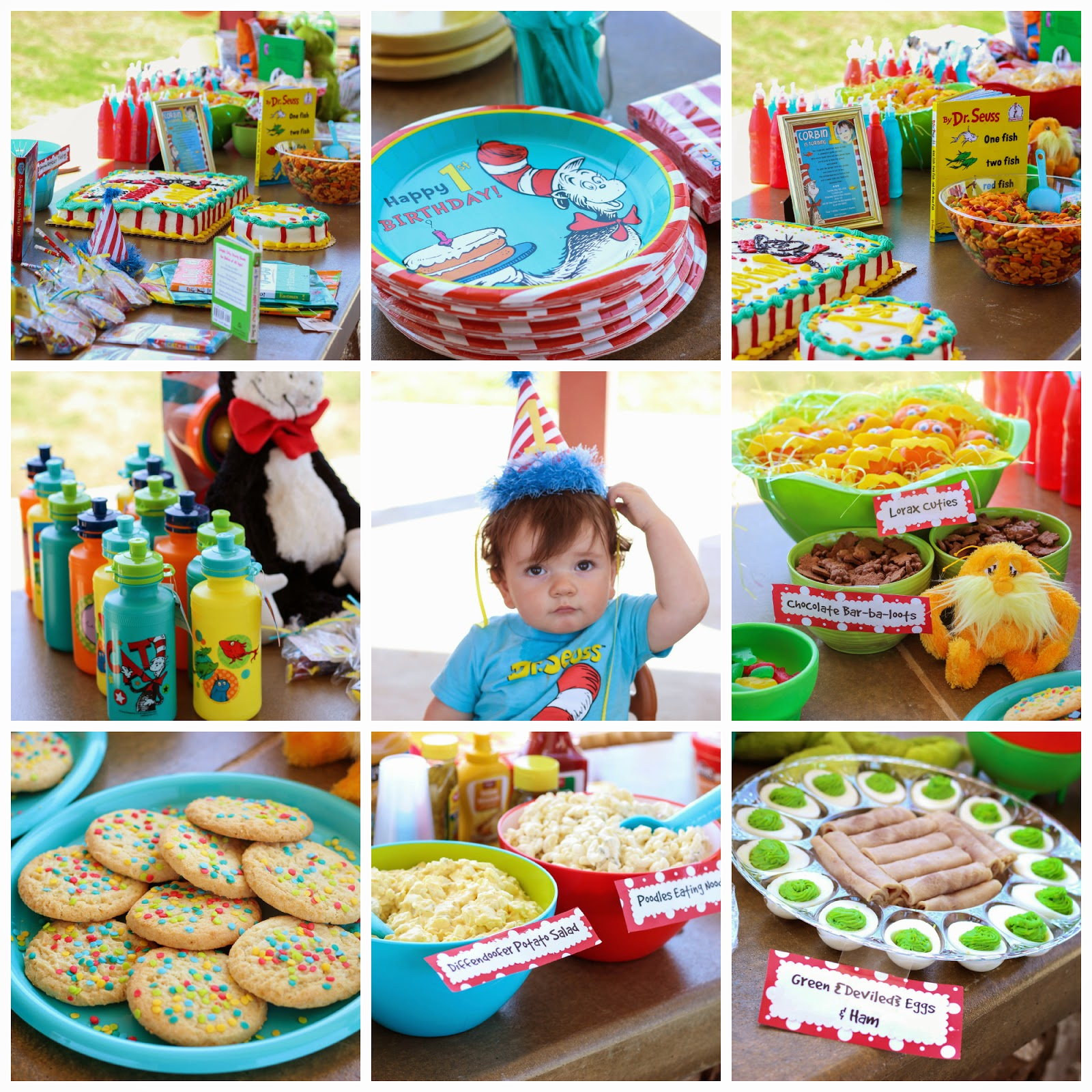 Diddles and Dumplings Dr Seuss Party