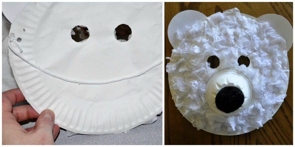 & Polar Bear Masks | I Heart Crafty Things