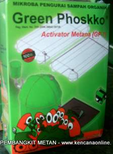 Aktivator Pembangkit Metana Green Phoskko® [ GP-7]