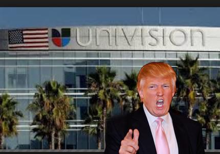 Por que  Donald Trump demando a Univision