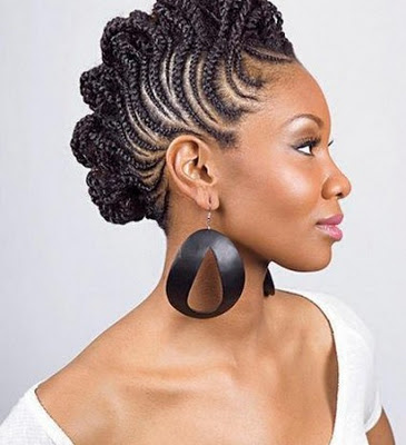 Flat twist braids can surely give you that edgy look and make you look ...