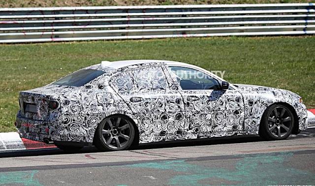 2017 BMW 5 Series, 3 Series Hybrid Spied