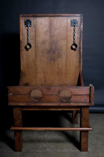 bdsm furniture, bastinado chair