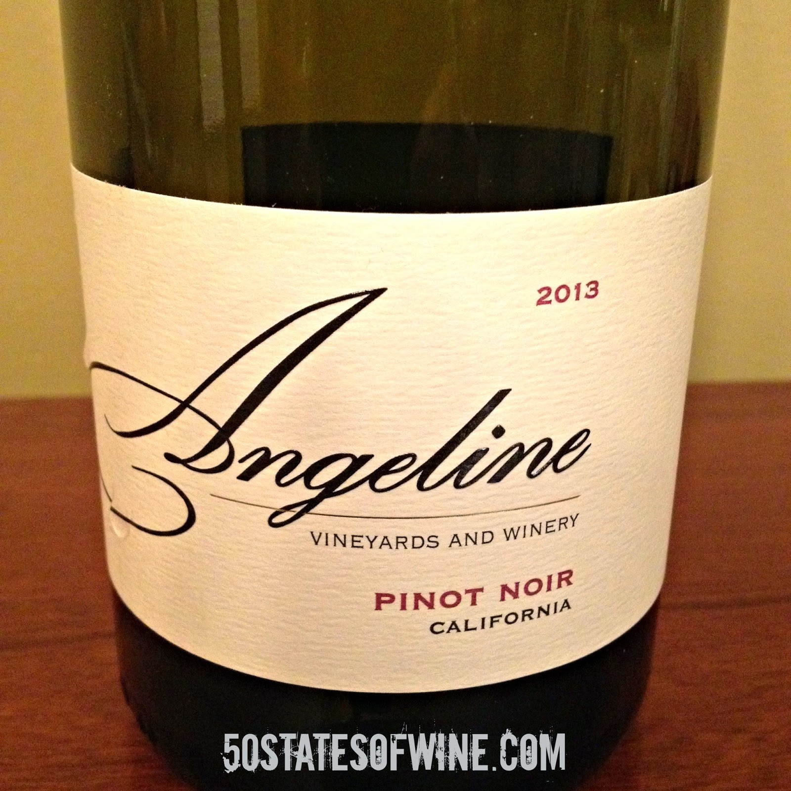 Wine of the Week: Angeline 2013 California Pinot Noir