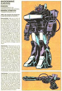 Shockwave (ficha transformers)