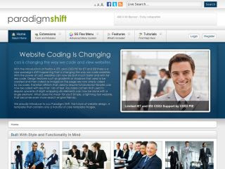 Paradigm Shift – Shape 5 June 2011 Joomla Club Template