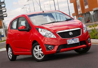 2011 Holden Barina Spark Pictures
