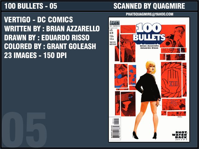 100 Bullets 5 Page 1
