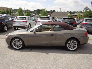 carspyphoto: 2014 audi a5 Convertible dakota gray/brown roof