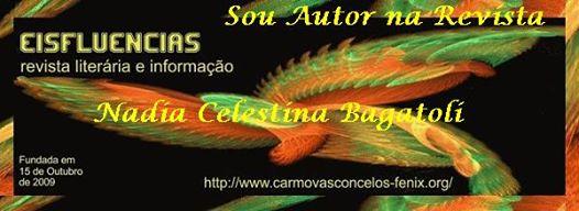 Homenageada pela Revista eisFLUENCIA, SOU AUTORA DA REVISTA.