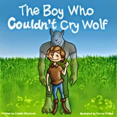 Caldric, the boy who cried wolf picture book, free kindle children's picture books, kindle unlimited children's books, wolf picture book, boys pictures books, wolf children's book