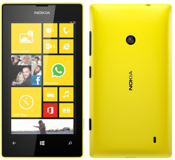 Nokia Lumia 520-Spesifikasi Lengkap