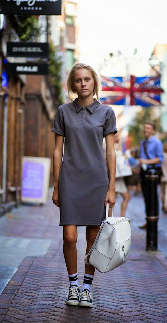 Street Style Polo Shirts