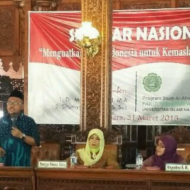 Seminar Nasional Fakultas Syari'ah dan Huku UNISNU Jepara