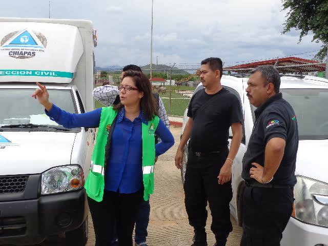 SECRETARIO DE SEGURIDAD Y PROTECCIÓN CIUDADANA, INSPECCIONA PENALES DE  CHIAPAS