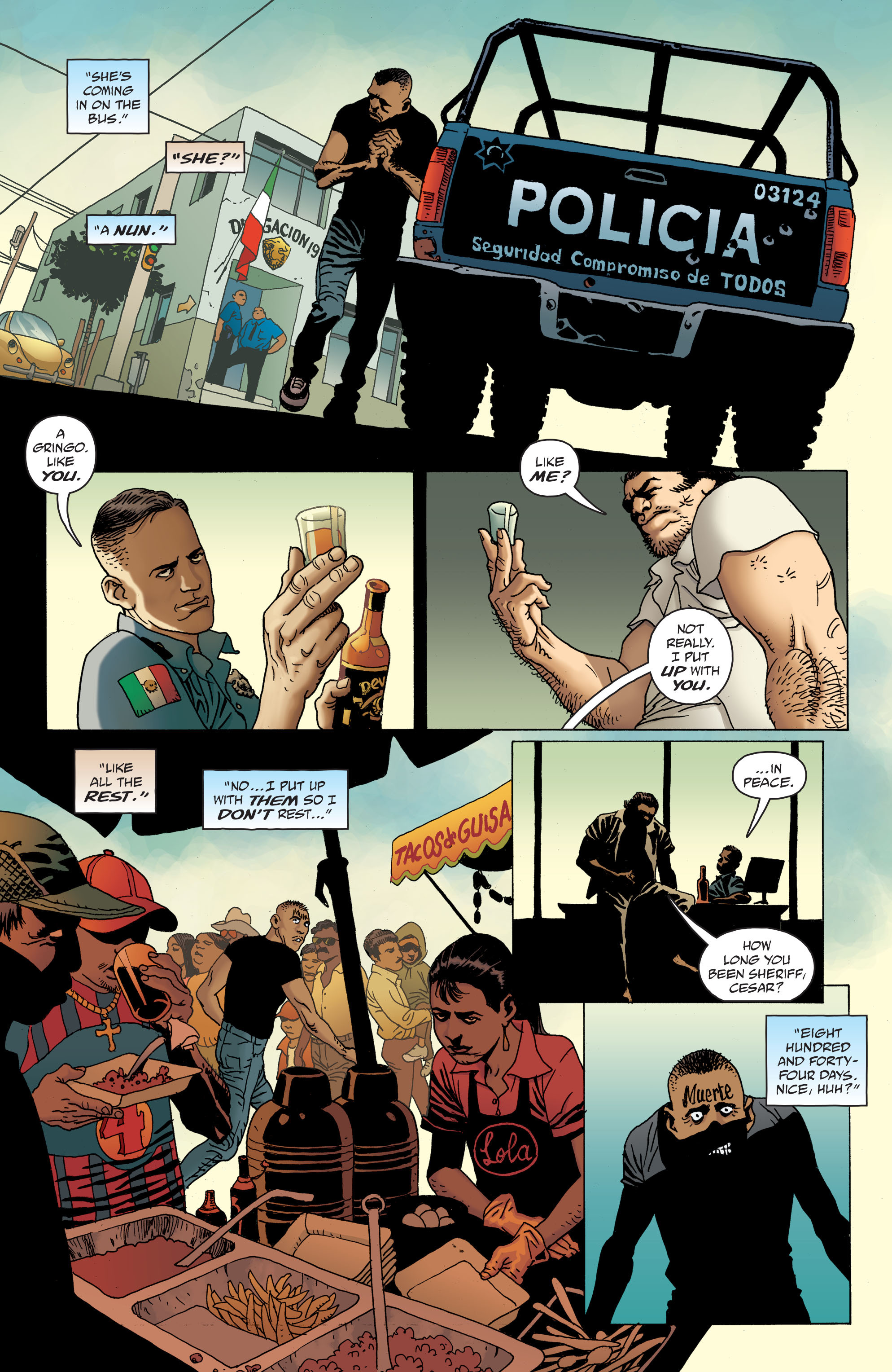 100 Bullets: Brother Lono Full Page 21
