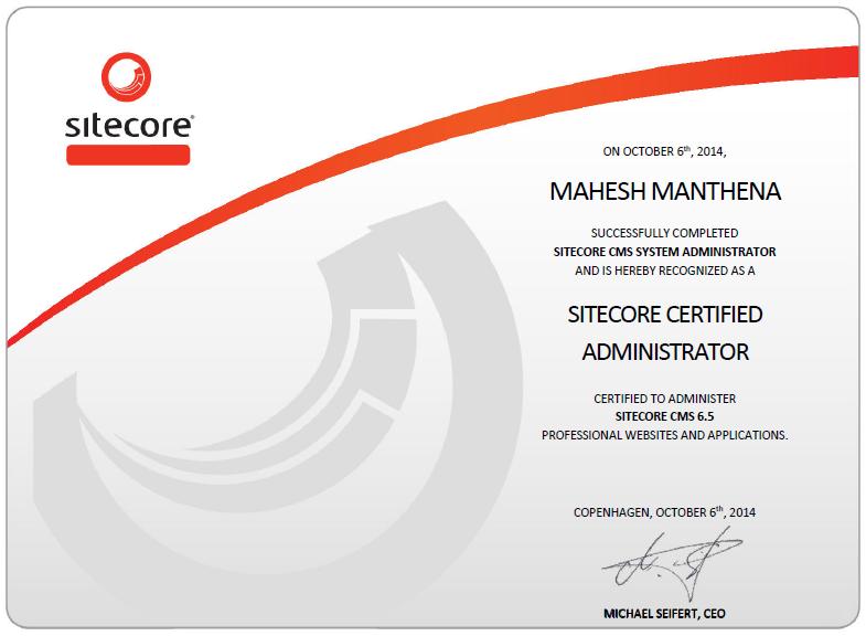 Mahesh Manthena\'s Blog: Installing and configuring Sitecore 7.5 Instance