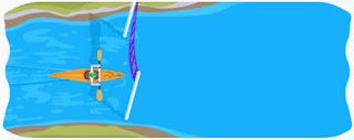 CANOAGEM SLALOM CANOE DOODLE GOOGLE INTERATIVO