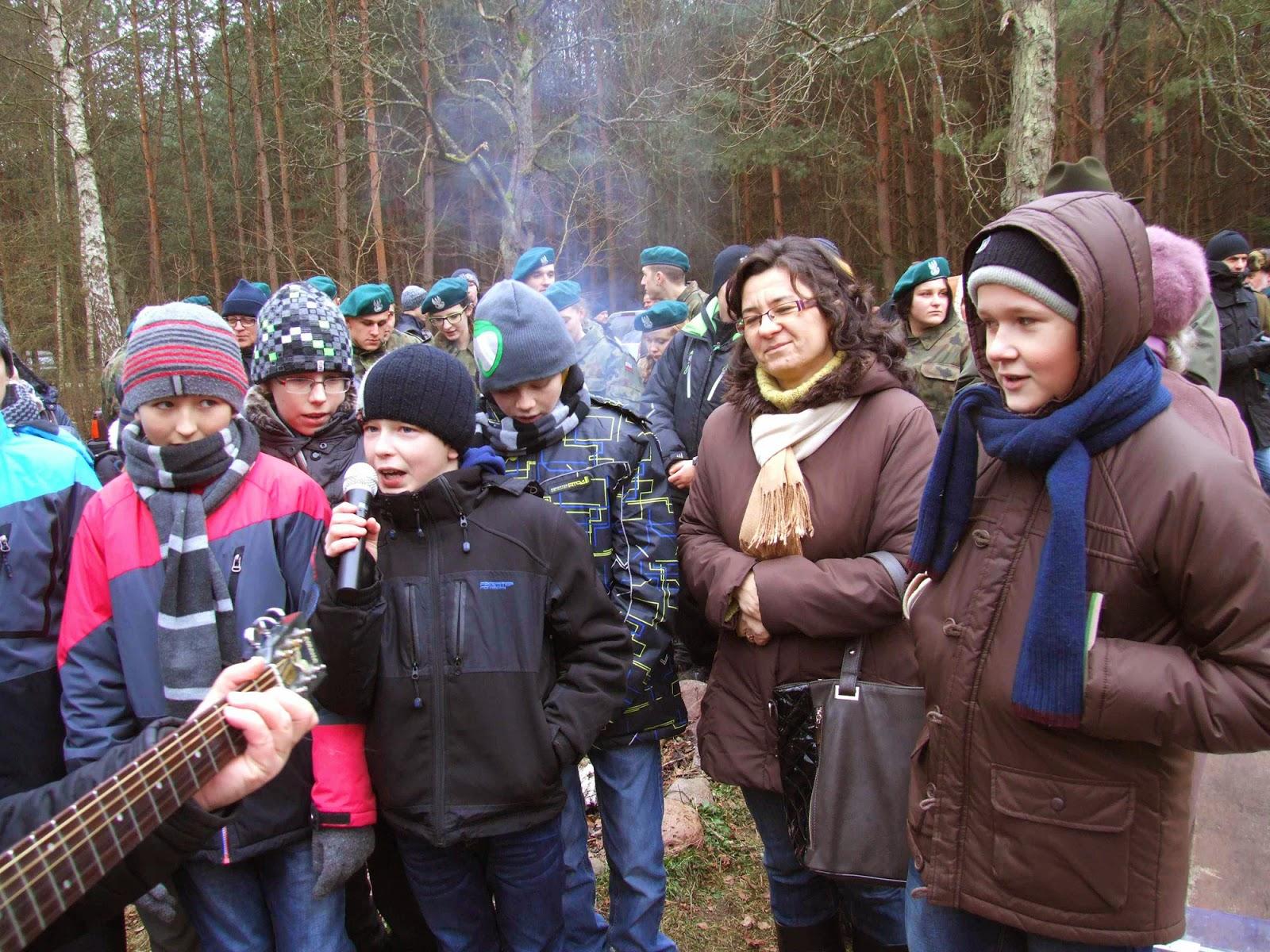 Kolęda w wykonaniu uczniów PSP im. Hubala w Przydworzycach