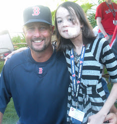 Nayree with Tim Wakefield