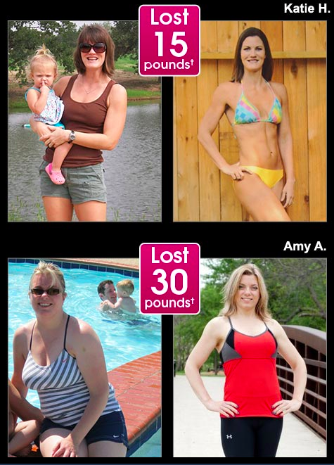 PiYo before and after pictures, PiYo results