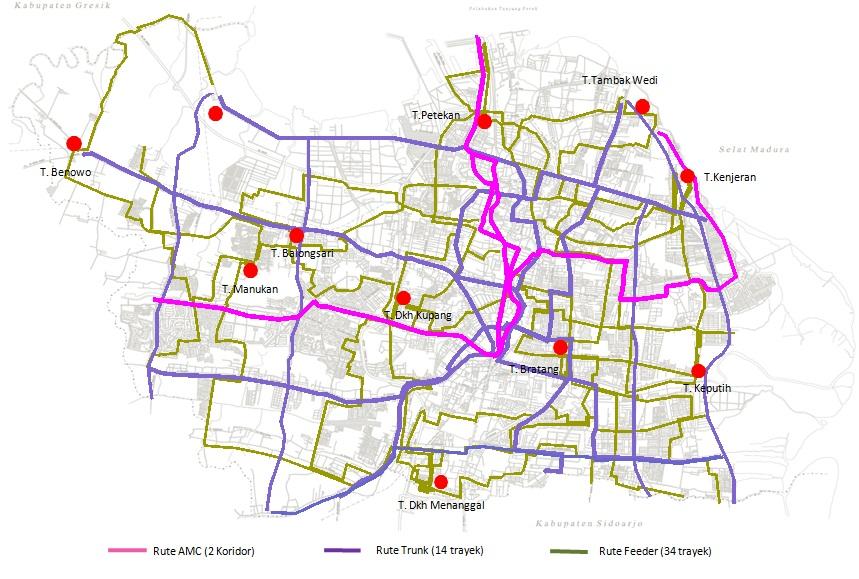 Trayek Surabaya