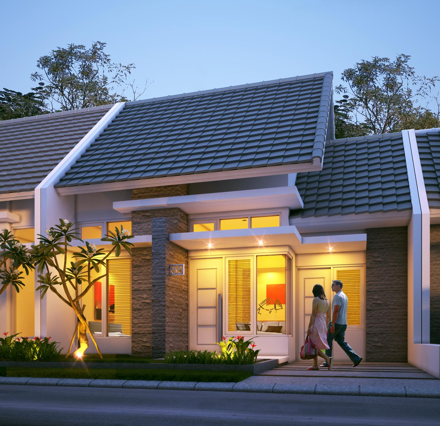Rumah Minimalis Type 45 | ukuran rumah type 45 | harga rumah type 45 | rumah type 45 minimalis