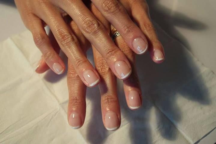Натуральный маникюр фото на коротких ногтях фото