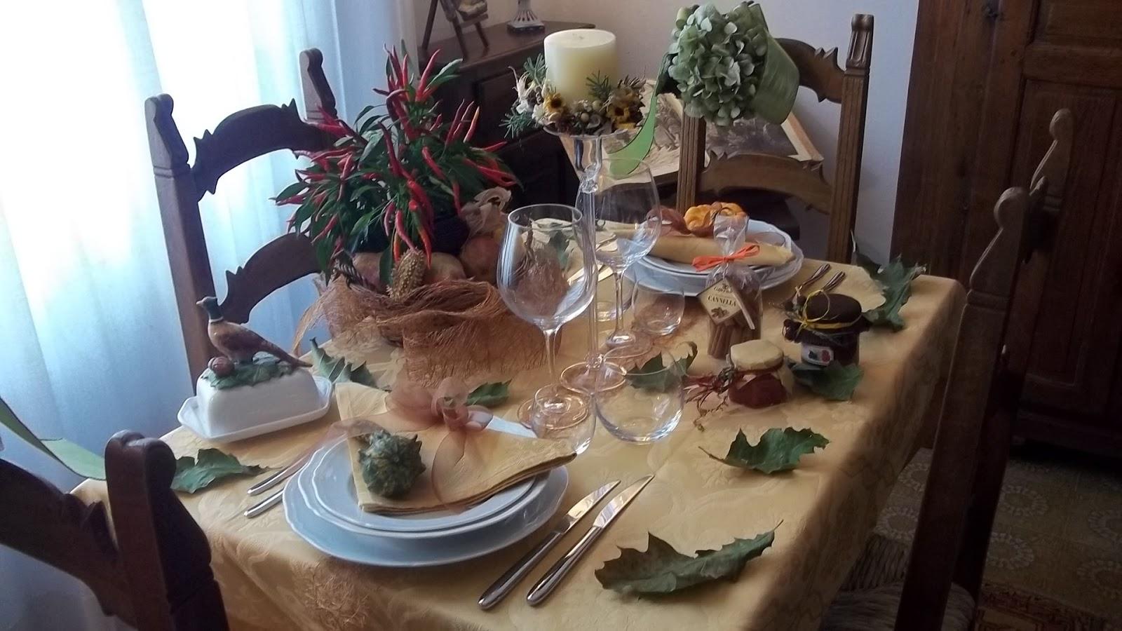 Il blog della zia Sandra: LA TAVOLA DAUTUNNO