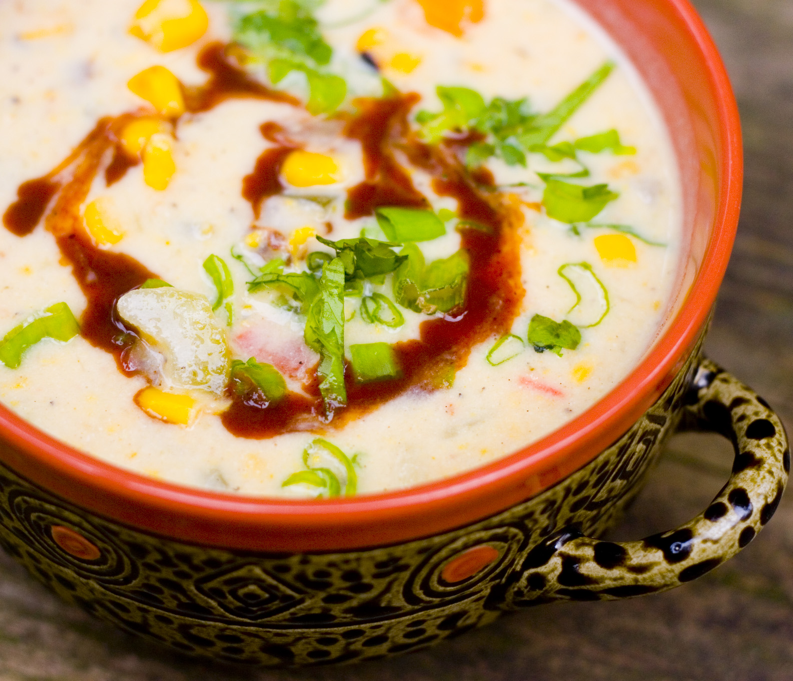 No Face Plate: Out of Hand Sick Delicious Corn Chowder