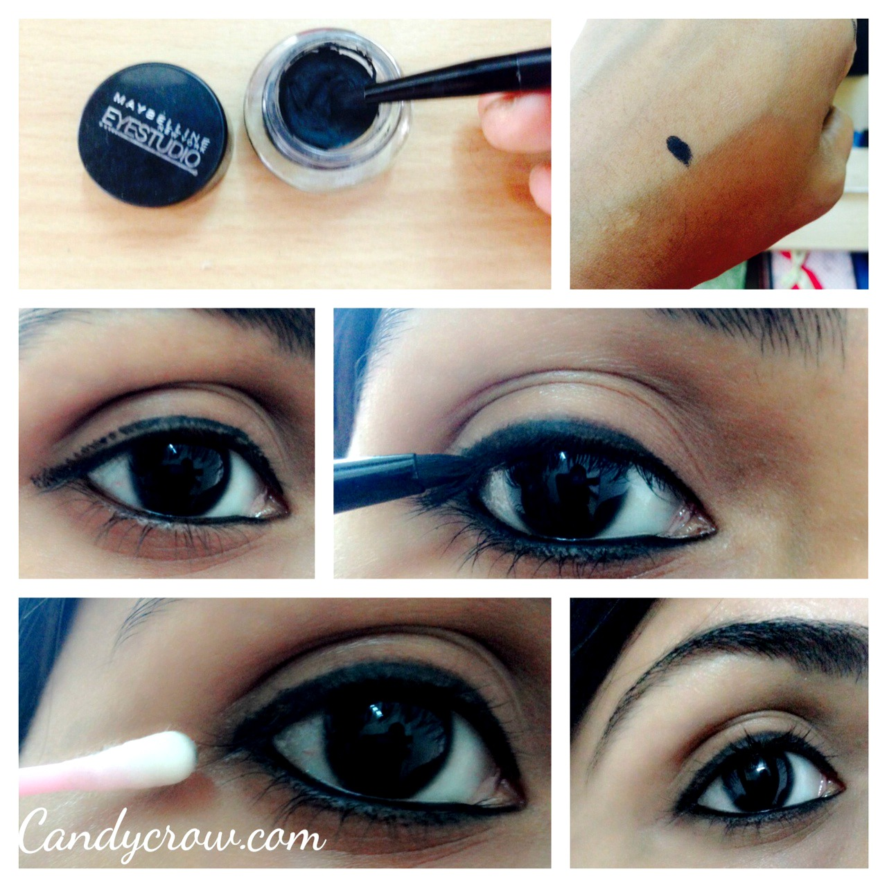 Step 1 Before Applying Step 2 Prepare The Applicator How To Apply Eyeliner  Step By Step