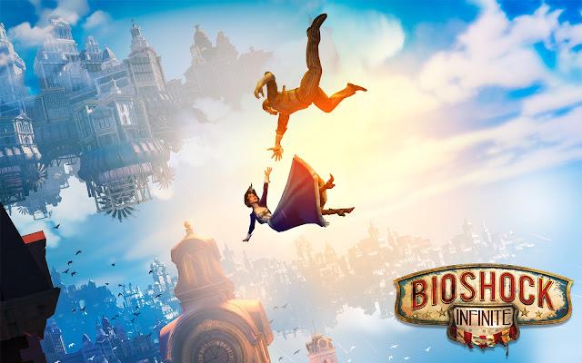 Falling - BioShock : Infinite