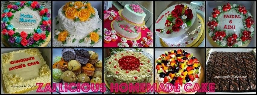 Zai'licious Homemade Cake