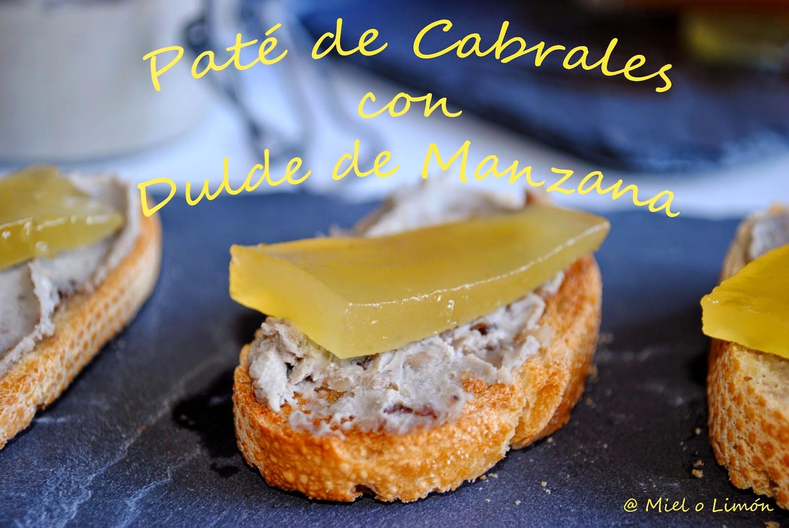 Paté De Cabrales Con Dulce De Manzana