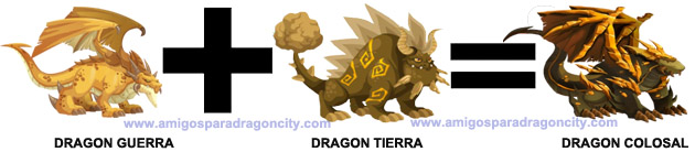 como sacar el dragon colosal en dragon city combinacion 1