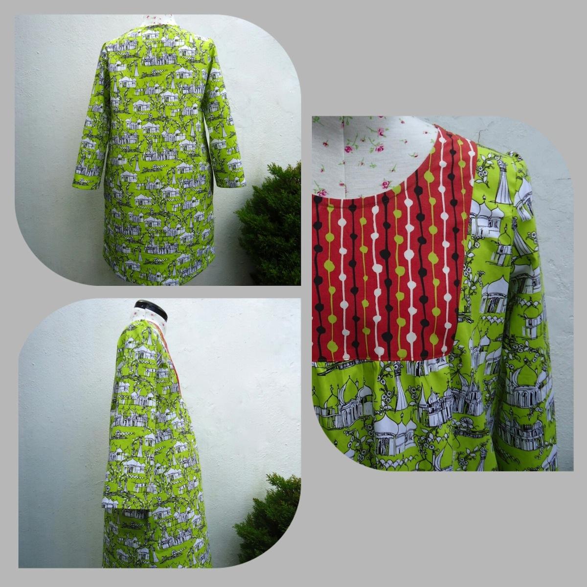 Wiksten Tova dress in Brighton Pavilion and Hemingway fabrics