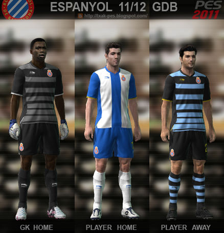 Espanyol 11/12 Kit Set by Txak