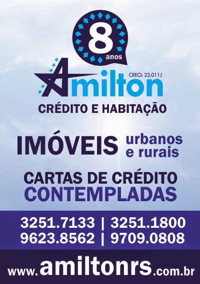 Amilton Crédito e Habitação em Santiago!