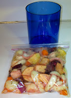 marinating root vegetables